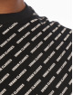 Urban Classics T-skjorter Allover Logo svart