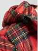 Urban Classics Toppatakkeja Hooded Check punainen