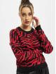 Urban Classics Trøjer Ladies Short Tiger sort