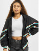 Urban Classics Transitional Jackets Multicolor Rib Batwing svart