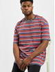 Urban Classics Tričká Yarn Dyed Oversized Board Stripe èervená