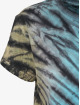 Urban Classics Tričká Tie Dye Boyfriend èierna