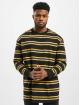 Urban Classics Tričká dlhý rukáv Yarn Dye èierna