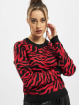Urban Classics Tröja Ladies Short Tiger svart
