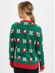 Urban Classics trui Ladies Santa Christmas groen