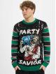 Urban Classics trui Savior Christmas zwart