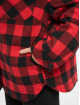 Urban Classics Välikausitakit Ladies Flanell Padded Overshirt musta