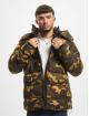 Urban Classics Vattert jakker Hooded Camo kamuflasje 0