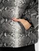 Urban Classics Veste matelassée Hooded AOP gris
