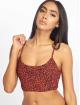 Volcom Bikini On The Spot Crop czerwony