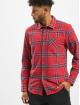 Volcom Camicia Caden Plaid rosso
