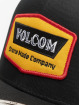 Volcom Snapback Caps Cresticle czarny 3
