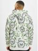 VSCT Clubwear Hoodie Skull X Leaf white