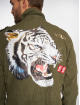 VSCT Clubwear Lightweight Jacket Customized Tiger khaki