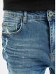 VSCT Clubwear Skinny Jeans Thor Knee Cut Slim Fit modrý 3
