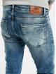 VSCT Clubwear Slim Fit Jeans Keanu Leg Zip blau 4