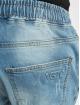 VSCT Clubwear Slim Fit Jeans Clubwear Noah Cuffed Laces blau