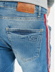 VSCT Clubwear Slim Fit Jeans Keanu Multi Colour Stripe modrá