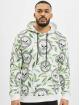 VSCT Clubwear Sweat capuche Skull X Leaf blanc