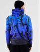 VSCT Clubwear Sweat capuche zippé Graded Tech Fleece Hooded Leaf-Camo bleu