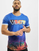 VSCT Clubwear t-shirt Graded Blue Deep Sea blauw