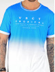 VSCT Clubwear T-Shirt Graded Logo Sky Cloud bleu