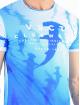 VSCT Clubwear Tričká Hammer Shark Logo modrá