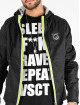 VSCT Clubwear Välikausitakit Conzraast Neon Zipper musta