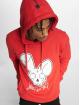 Who Shot Ya? Bluzy z kapturem Logo czerwony