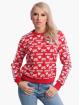 Yakuza Пуловер Logo Love Classic красный