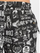 Yakuza Badeshorts Allover Carry svart