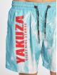 Yakuza Badeshorts Rise Up turquoise