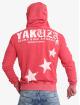 Yakuza Bluzy z kapturem Overskulled Acid czerwony