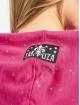 Yakuza Bluzy z kapturem Dot Lily Two Face pink