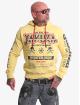 Yakuza Bluzy z kapturem Guns Vs People zólty