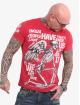 Yakuza Camiseta Power Over Us rojo