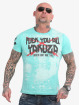 Yakuza Camiseta F.Y.A. turquesa