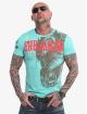 Yakuza Camiseta Dragon turquesa