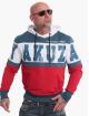 Yakuza Felpa con cappuccio Tri Star rosso