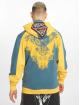 Yakuza Hoodies con zip Raven giallo 1