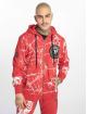Yakuza Hoodies con zip Marble rosso 2