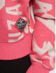 Yakuza Hoody Allover Funnel rosa 3