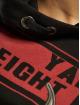 Yakuza Hoody Flying Skull Flex Long zwart