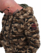 Yakuza Hupparit Red Flag Sherpa camouflage