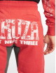 Yakuza joggingbroek Badge Sweat rood 4