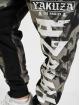 Yakuza Jogginghose Skull V02 schwarz