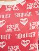 Yakuza Kleid Logo Love Bodycon pink