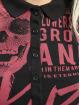 Yakuza Poloshirt Rotting Body Gradient black