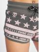 Yakuza Shorts Skull N Stars grau 3