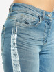 Yakuza Skinny Jeans Paint blå